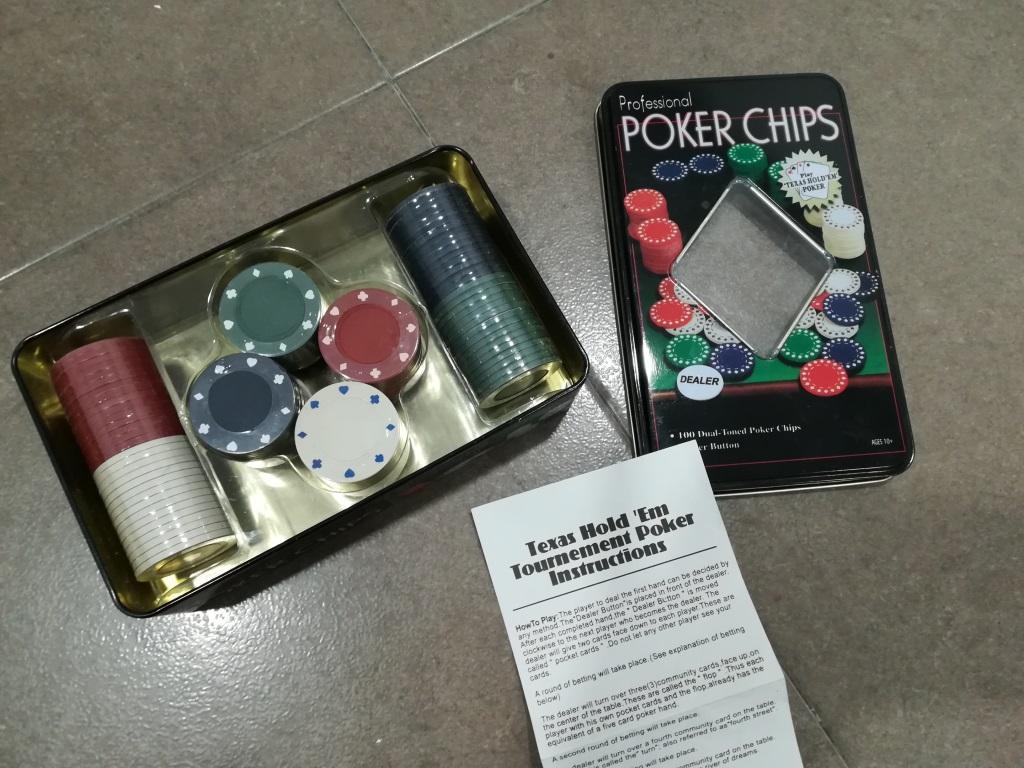 Fichas Poker Reciclagune Vitoria Gasteiz